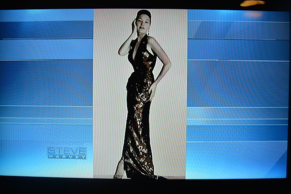 Tao Porchon-Lynch on the Steve Harvey Show - Modeling picture from 1940s