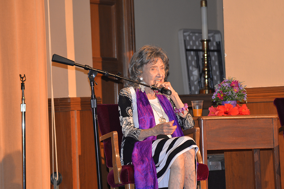 97-year-old Tao Porchon-Lynch in