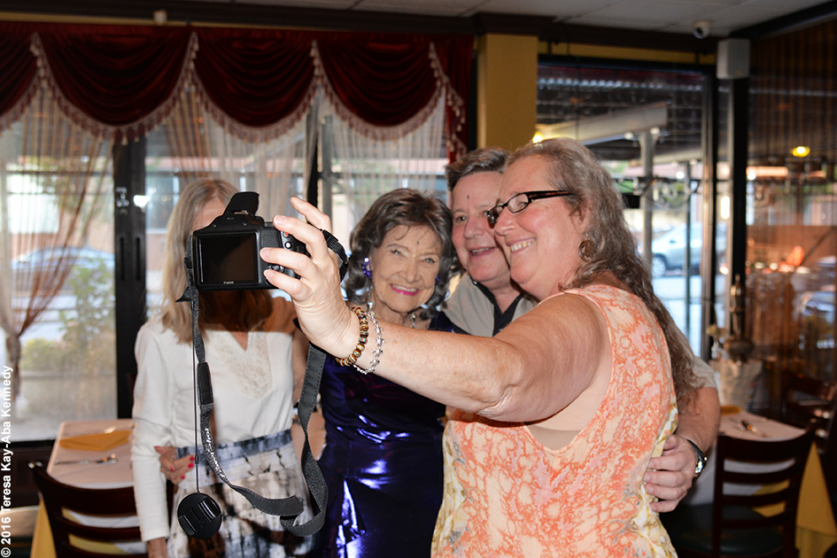 Yoga Master Tao Porchon-Lynch 98th Birthday Party at Taj Palace Restaurant in White Plains, NY - August 7, 2016
