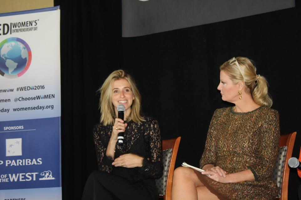 Katia Beauchamp and Sandra Lee at Women's Entrepreneurship Day at the United Nations in New York - November 18, 2016