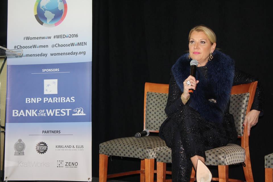 Mindy Grossman at Women's Entrepreneurship Day at the United Nations in New York - November 18, 2016