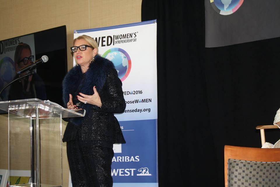Mindy Grossman at Women's Entrepreneurship Day at United Nations in New York - November 18, 2016