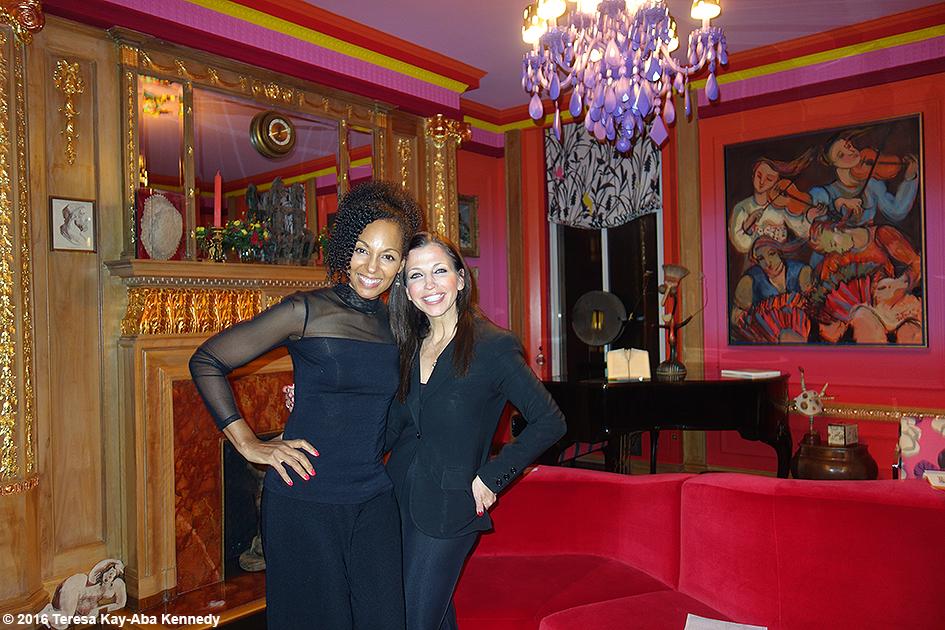 Teresa Kay-Aba Kennedy and Wendy Diamond at Women's Entrepreneurship Day VIP Reception in New York - November 17, 2016
