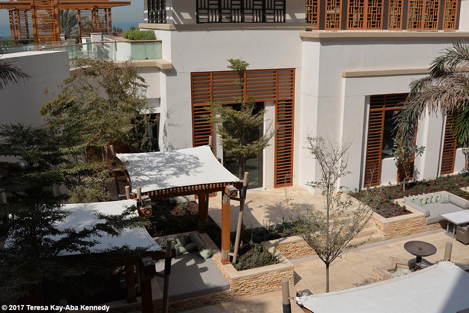 View from balcony of Jumeriah Al Naseem Resort in Dubai - February 11, 2017