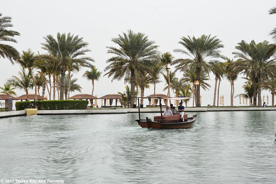 View outside of Mina A' Salam Resort in Dubai - February 13, 2017