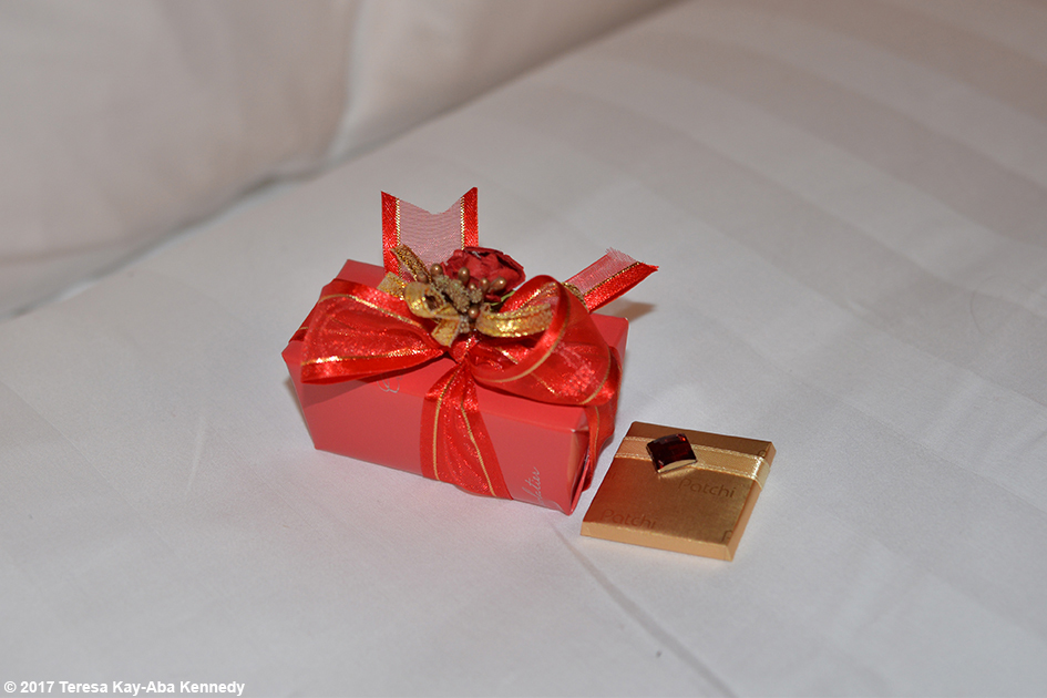Valentine's Day gift at Jumeriah Al Naseem in Dubai - February 14, 2017