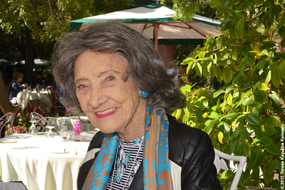 98-year-old yoga master Tao Porchon-Lynch at The Beverly Hills Hotel in Beverly Hills, CA - May 18, 2017