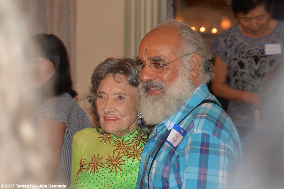 Tao Porchon-Lynch at her 99th Birthday Party at the Mansion on Broadway in White Plains, NY - August 13, 2017