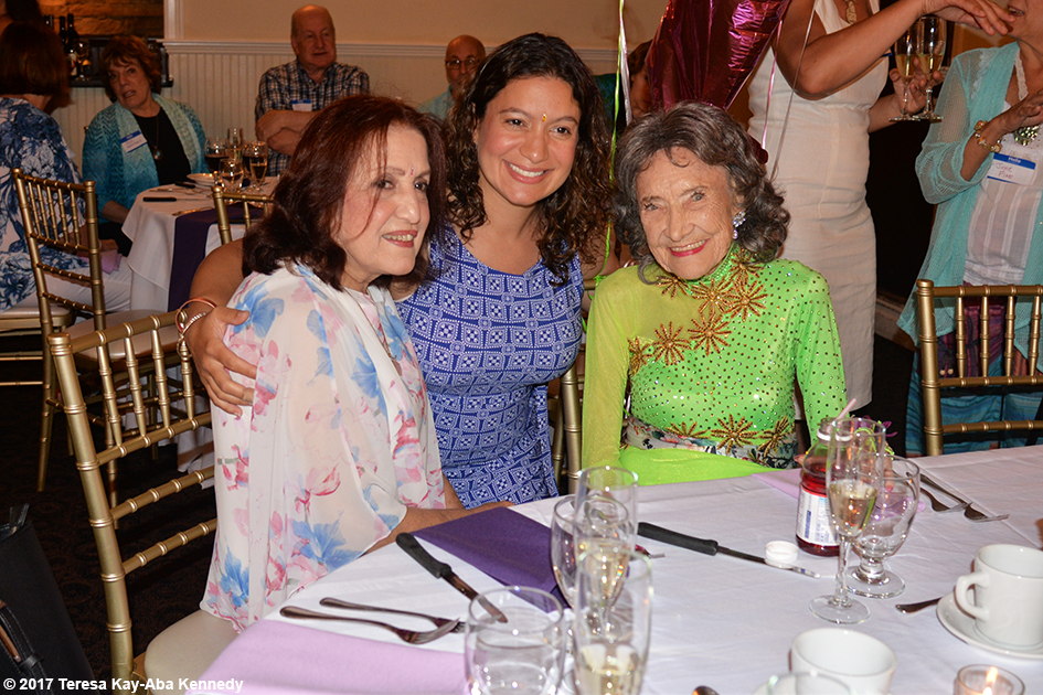 Tao Porchon-Lynch's 99th Birthday Party at the Mansion on Broadway in White Plains, NY - August 13, 2017