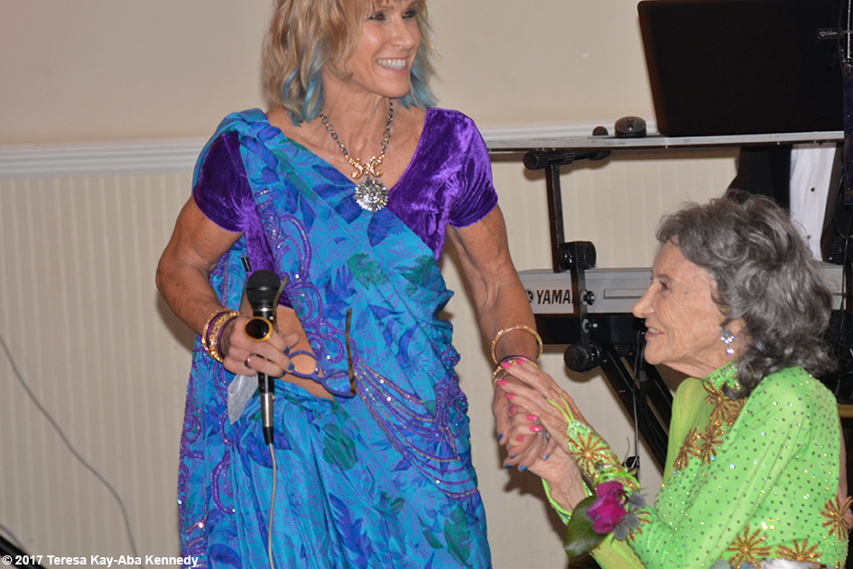 Renee Diamond at Yoga Master Tao Porchon-Lynch's 99th Birthday Party at Mansion on Broadway in White Plains, NY - August 13, 2017