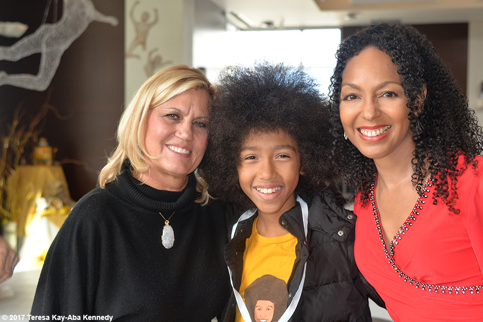 Gretchen Robinson, Tabay Atkins and Teresa Kay-Aba Kennedy at Lead With Love Conference in Aspen, Colorado – October 26, 2017