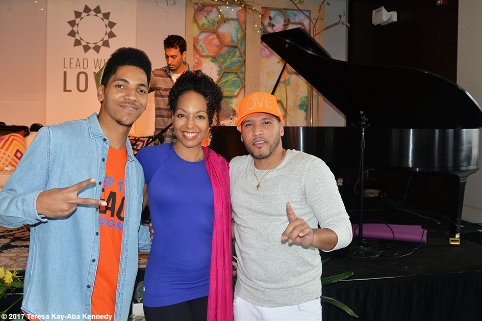 ARNSTAR, Teresa Kay-Aba Kennedy, and Robbie Nova at Lead With Love Conference in Aspen, Colorado – October 27, 2017