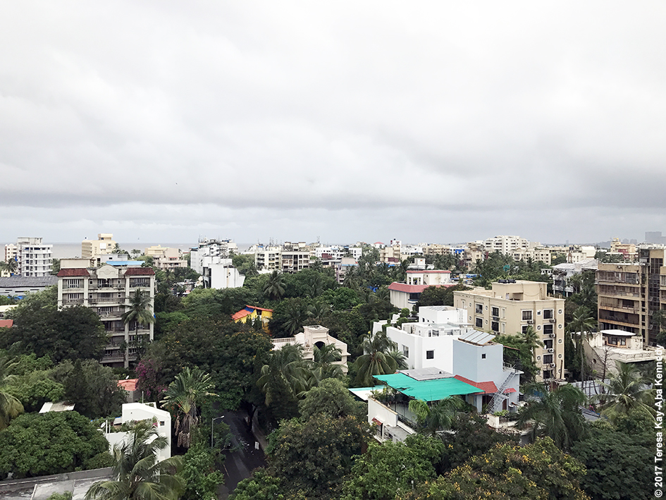 Rainy day in Mumbai, India - June 25, 2017